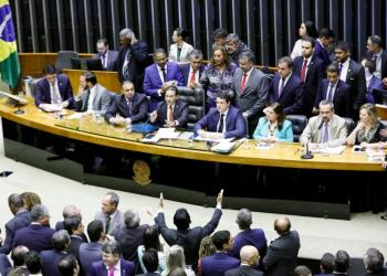 Convocação do ministro da educação, a fim de prestar esclarecimentos acerca dos cortes orçamentários na educação brasileira. Foto: Luis Macedo/Câmara dos Deputados
