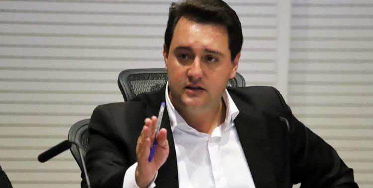 Governador Carlos Massa Ratinho Junior.  -  Curitiba, 02/01/2019  -  Foto: José Fernando Ogura/ANPr