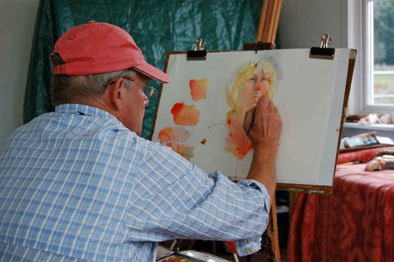 Charles Reid Tutor At EPC Art Courses