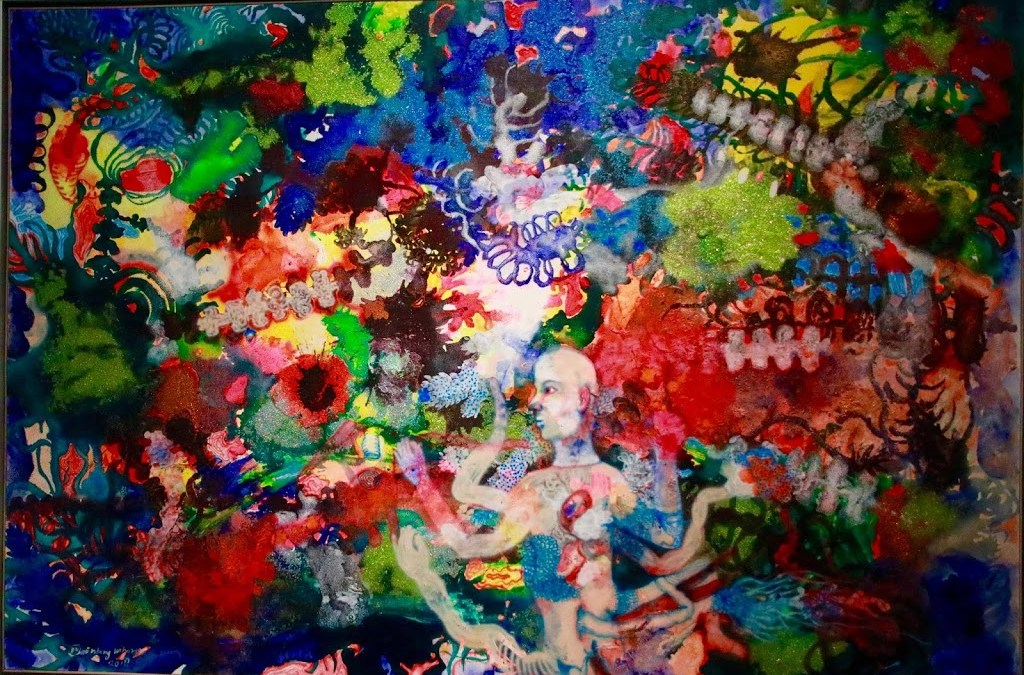 Entang Wiharso's Hybrid Brain at Mizuma Gallery Singapore