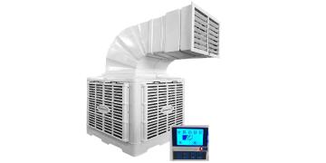 enfriador evaporativo industrial portatil control