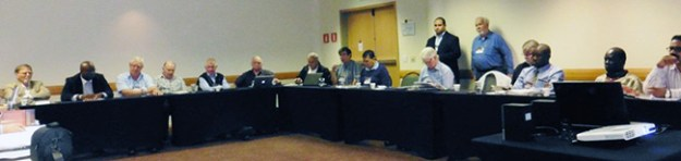 On March 25, denominational leaders from five continents discussed a denominational fellowship.