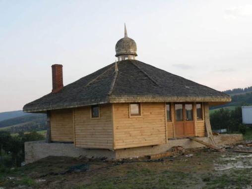 Dach  z wióra osikowego