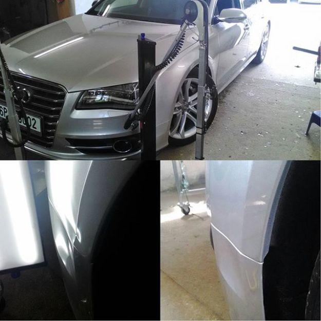 Oprava blatníku Audi S8