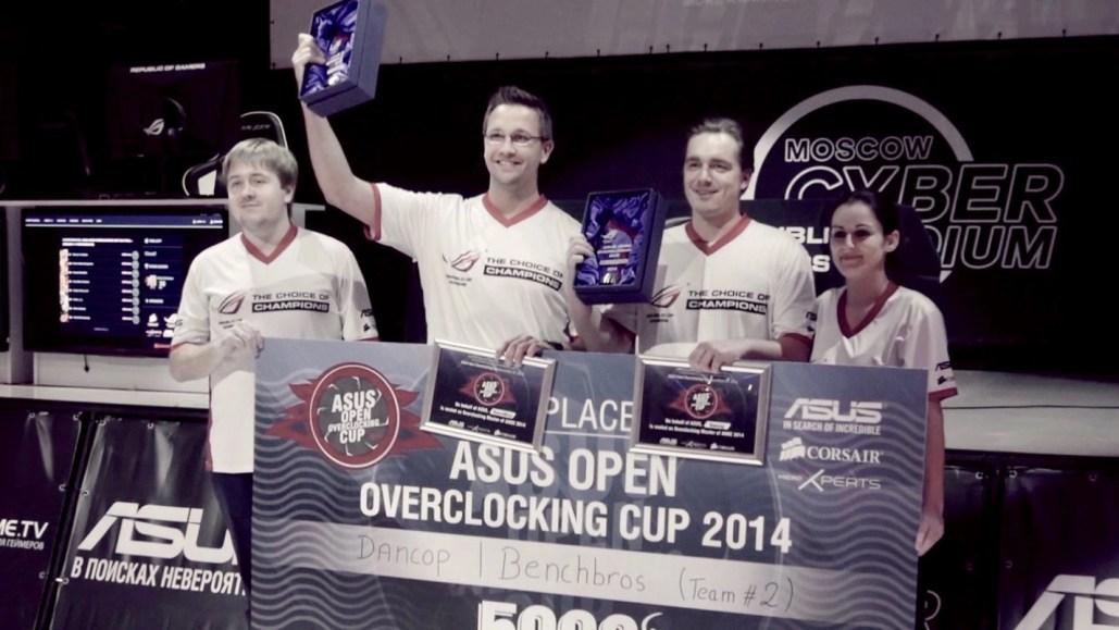 ASUS AOOC 2014 winners