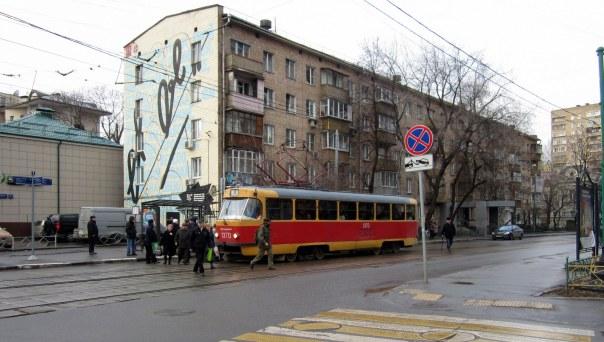 Moskovalainen raitiovaunu