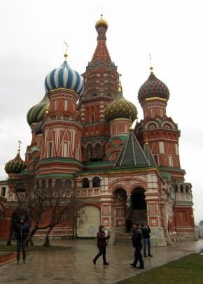 Moskova, punainen tori, Pyhän vasilin katedraali
