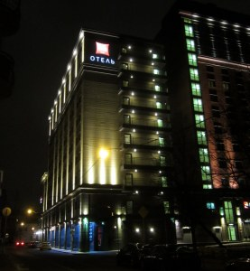 Moskova, Ibis-hotelli bakrhushina
