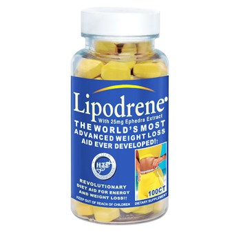 Lipodrene 20ct with ephedra