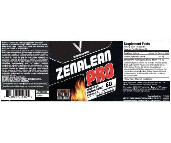 Zenalean Ingredients