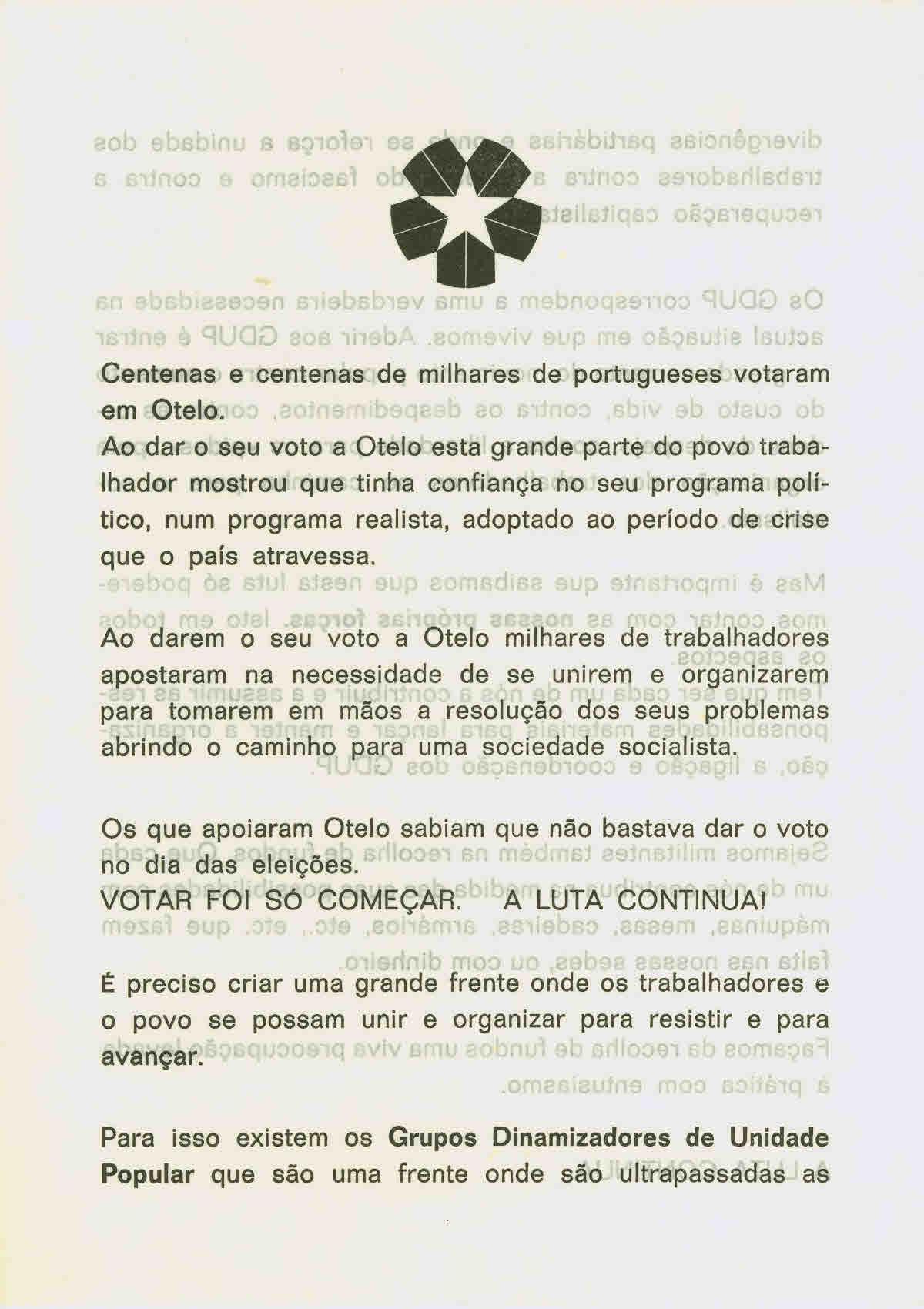 Centenas e centenas de milhares de portugueses