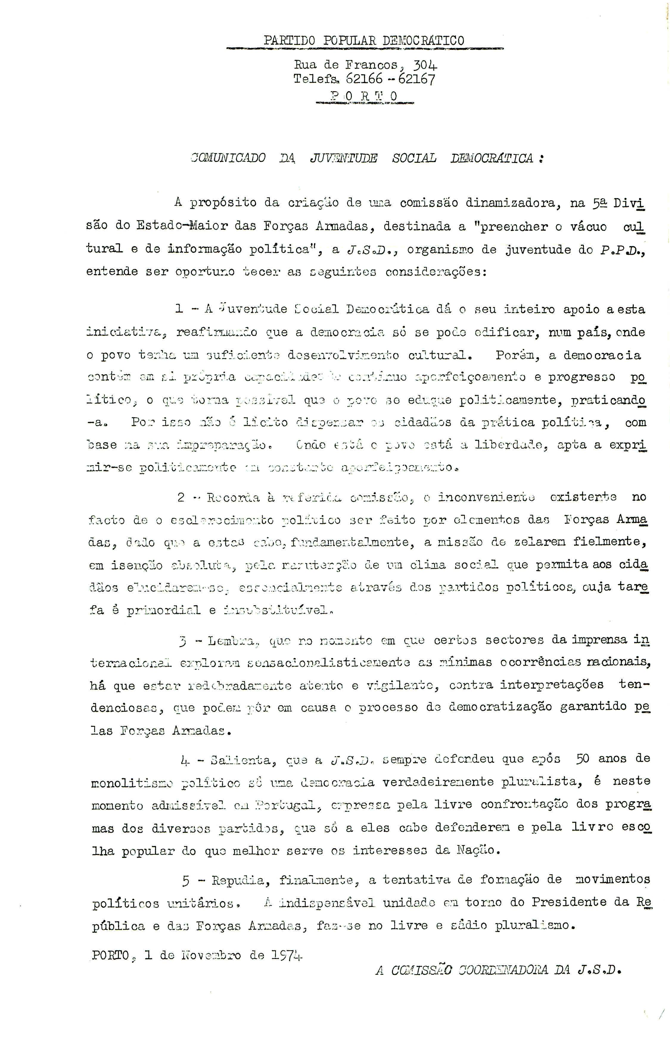 Ppd 1974 ephemera biblioteca e arquivo de jos pacheco pereira fandeluxe Image collections