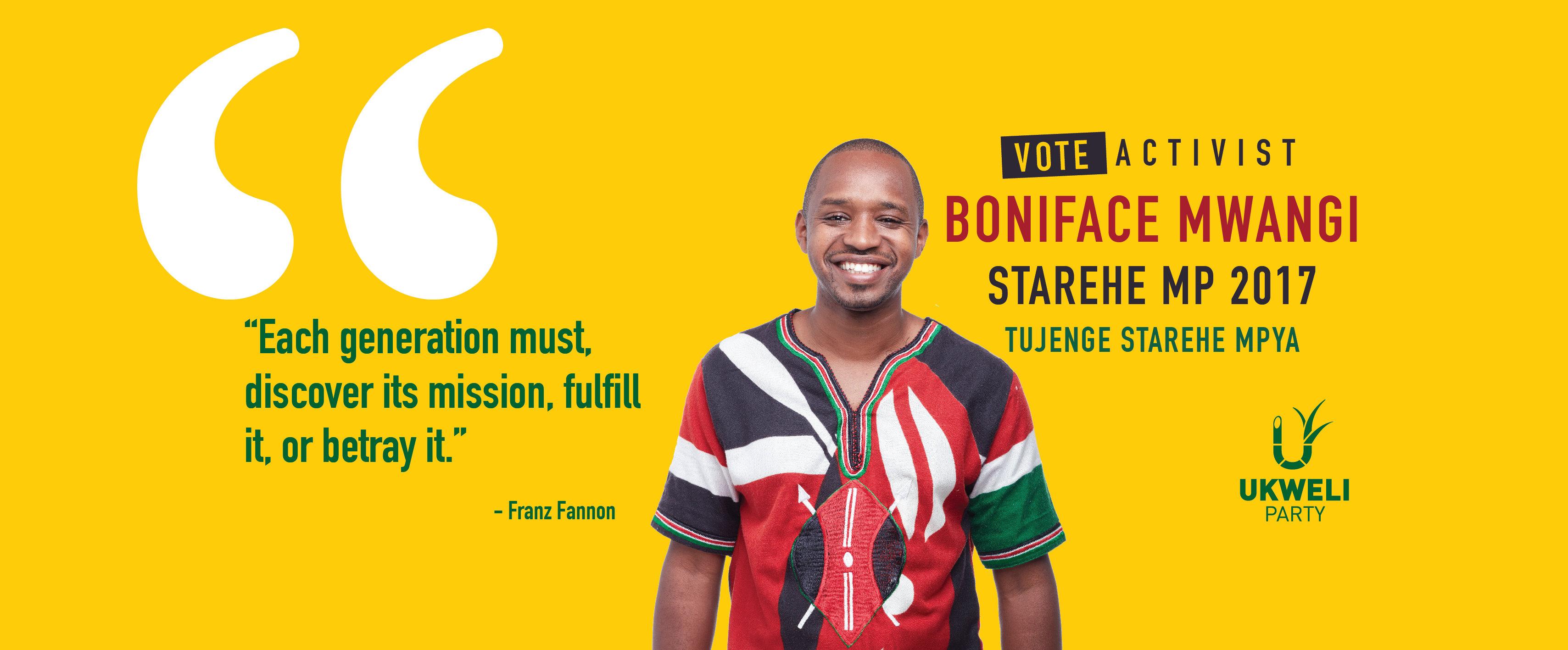 Qu Nia Elei Es Gerais De Agosto De 2017 Ukweli Party Boniface