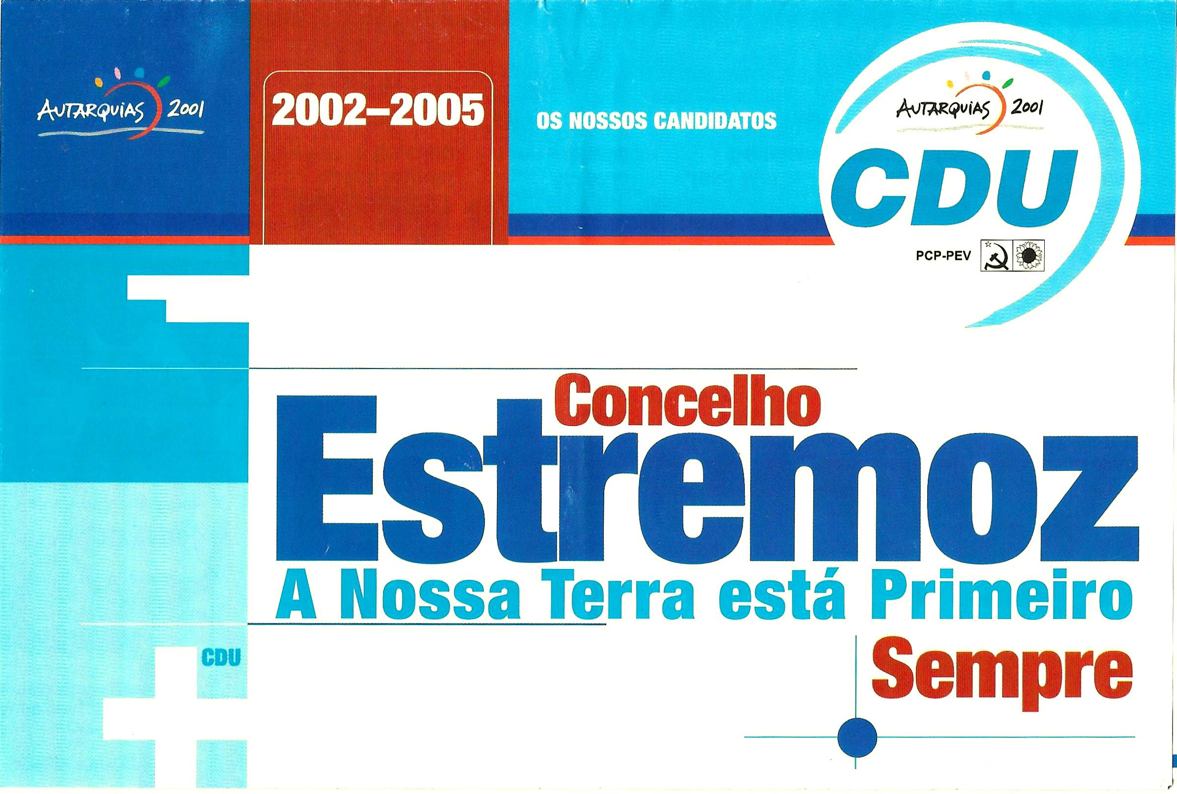 ESTREMOZ CDU 2001 1