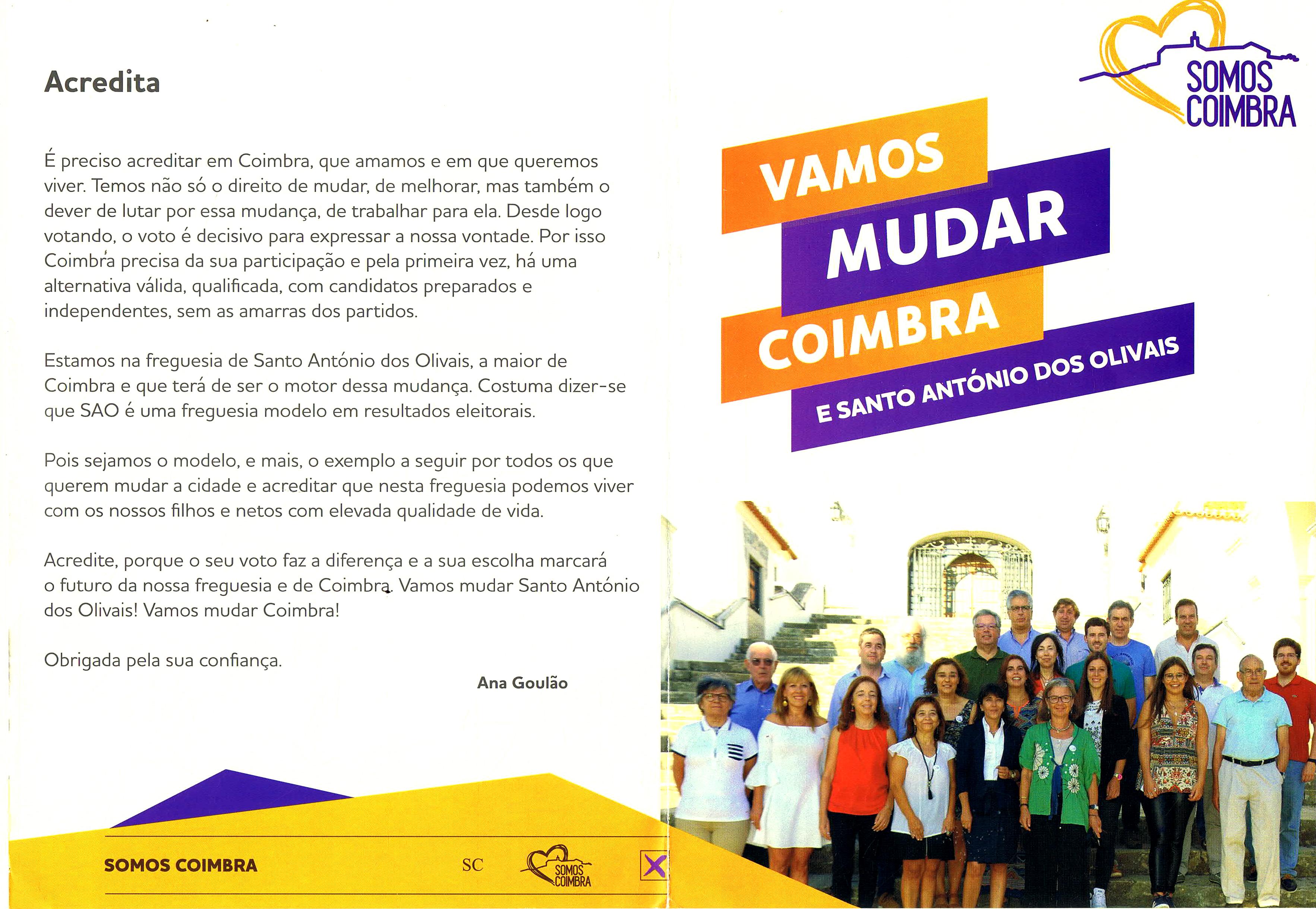 3ab8c52f917 ELEIÇÕES AUTÁRQUICAS DE 2017 – COIMBRA – FREGUESIA DE ...