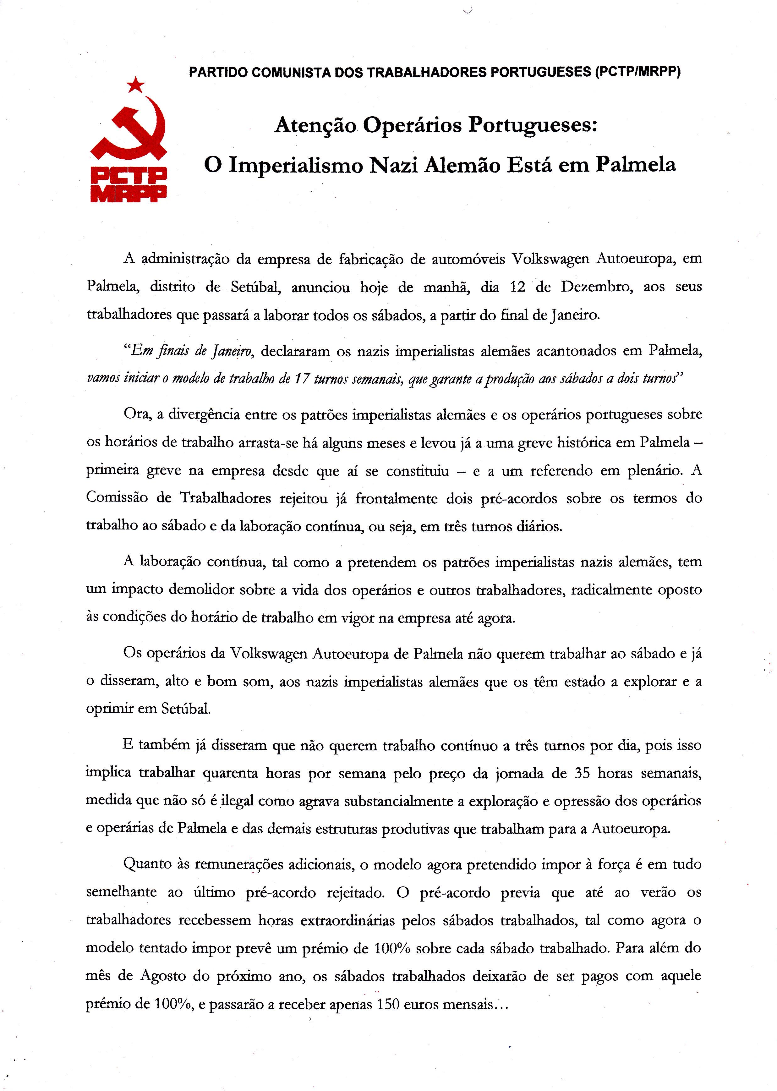 PCTP-MRPP – COMITÉ REGIONAL DE SETÚBAL – EPHEMERA – Biblioteca e arquivo de  José Pacheco Pereira debc934a7077e