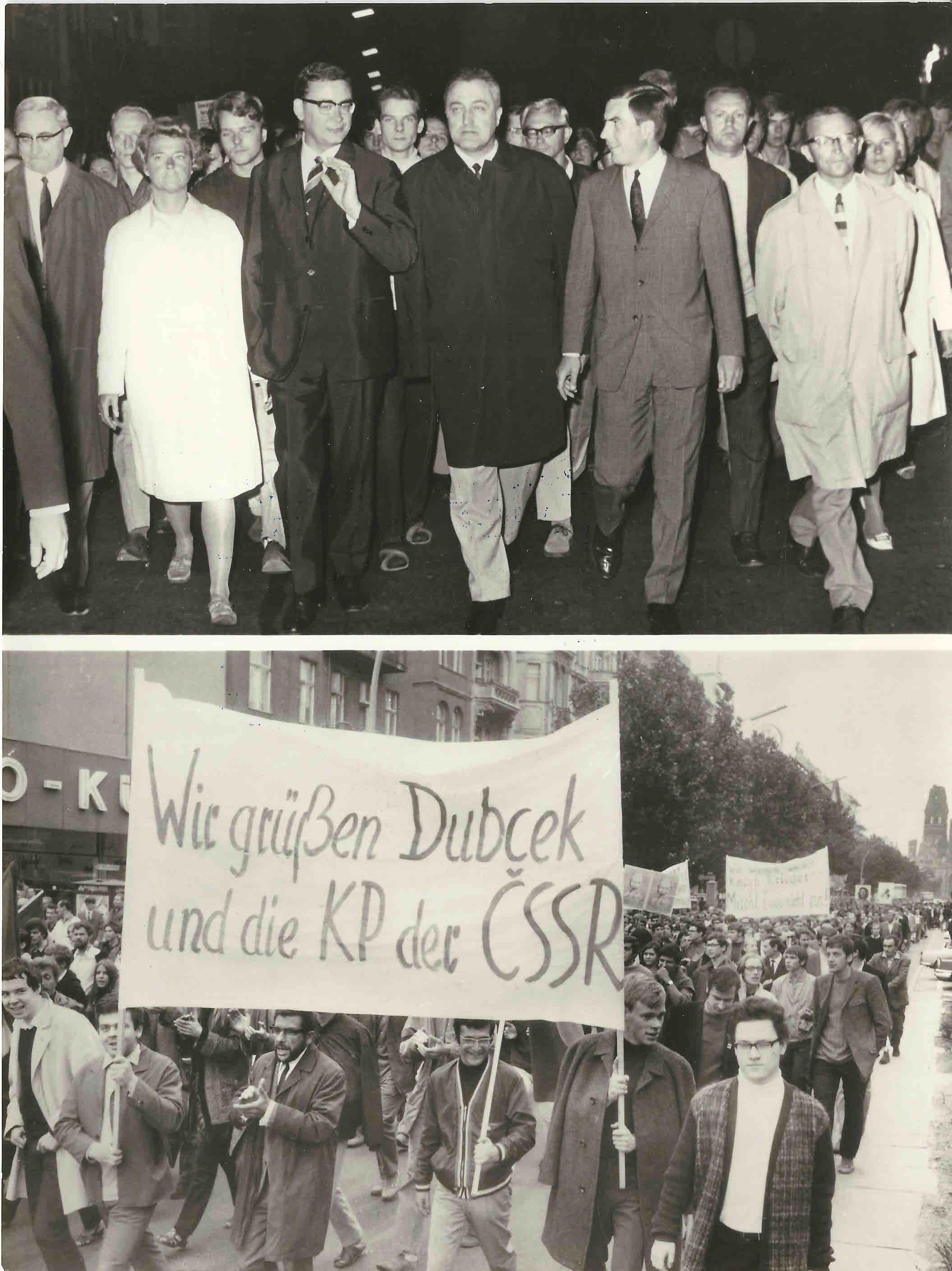 Alemanha manifestao contra a invaso sovitica da checoslovquia alemanha manifestao contra a invaso sovitica da checoslovquia berlim 29 de agosto de 1968 fandeluxe Choice Image