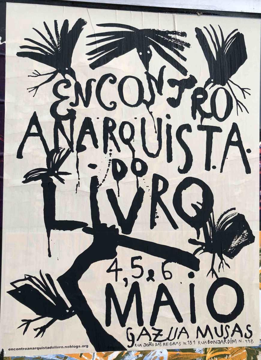 Encontro anarquista do livro porto 456 de maio de 2018 encontro anarquista do livro porto 456 de maio de 2018 ephemera biblioteca e arquivo de jos pacheco pereira fandeluxe Choice Image