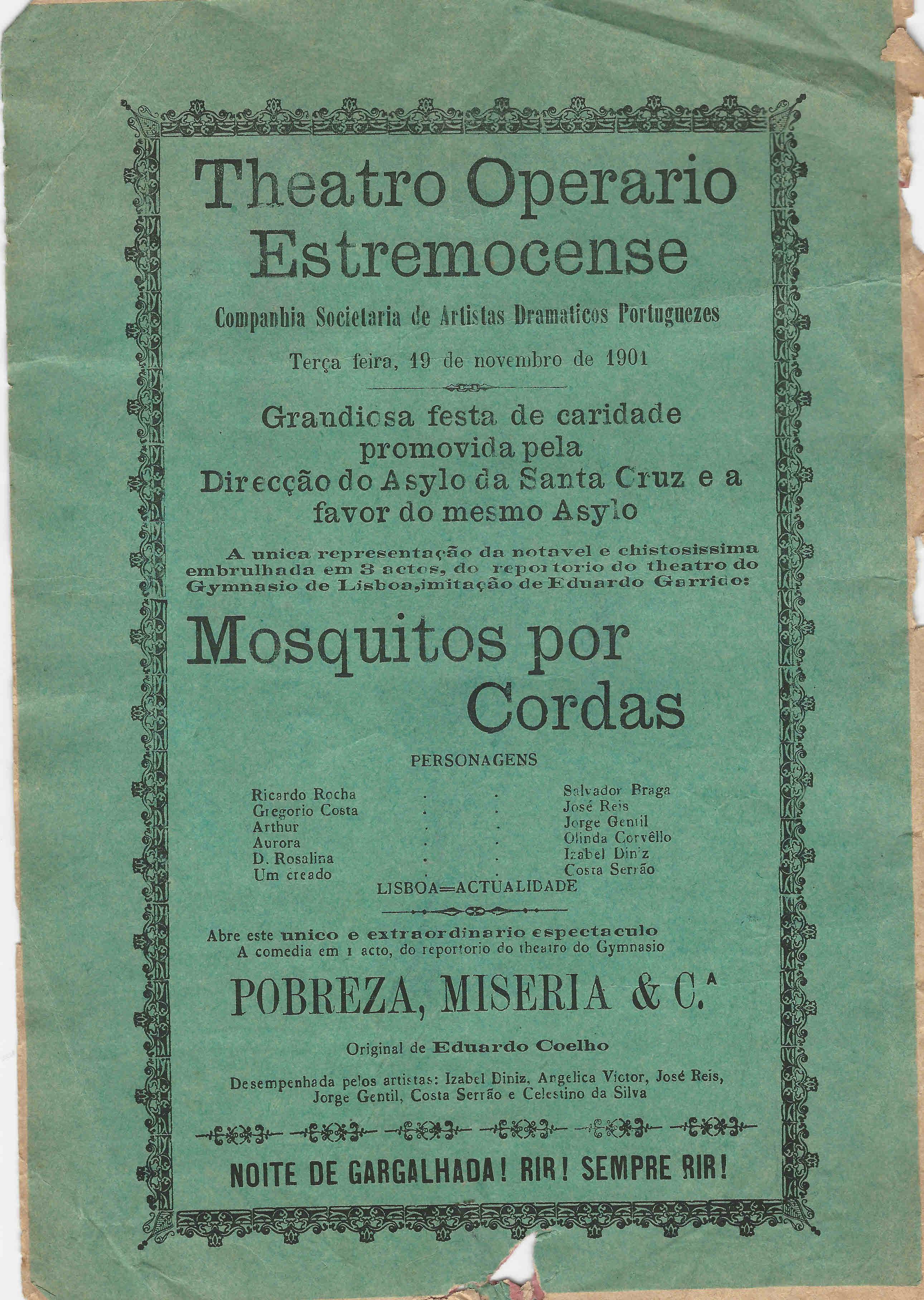 082dd87b063 TEATRO OPERÁRIO ESTREMOCENSE – EPHEMERA – Biblioteca e arquivo de ...