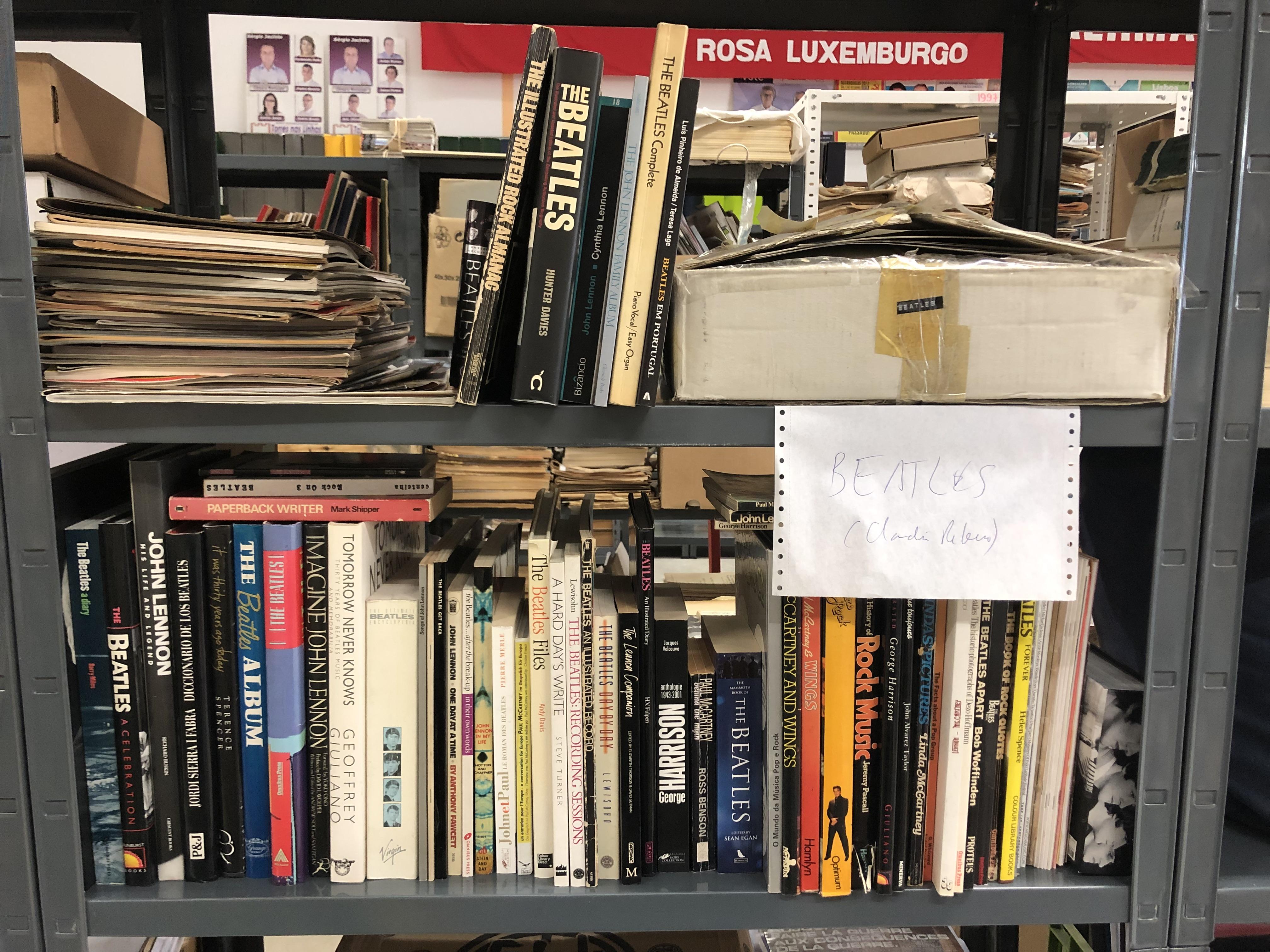 ENTRADA – BEATLEMANIA – UMA COLECÇÃO – EPHEMERA – Biblioteca e ... 23df608895d7c
