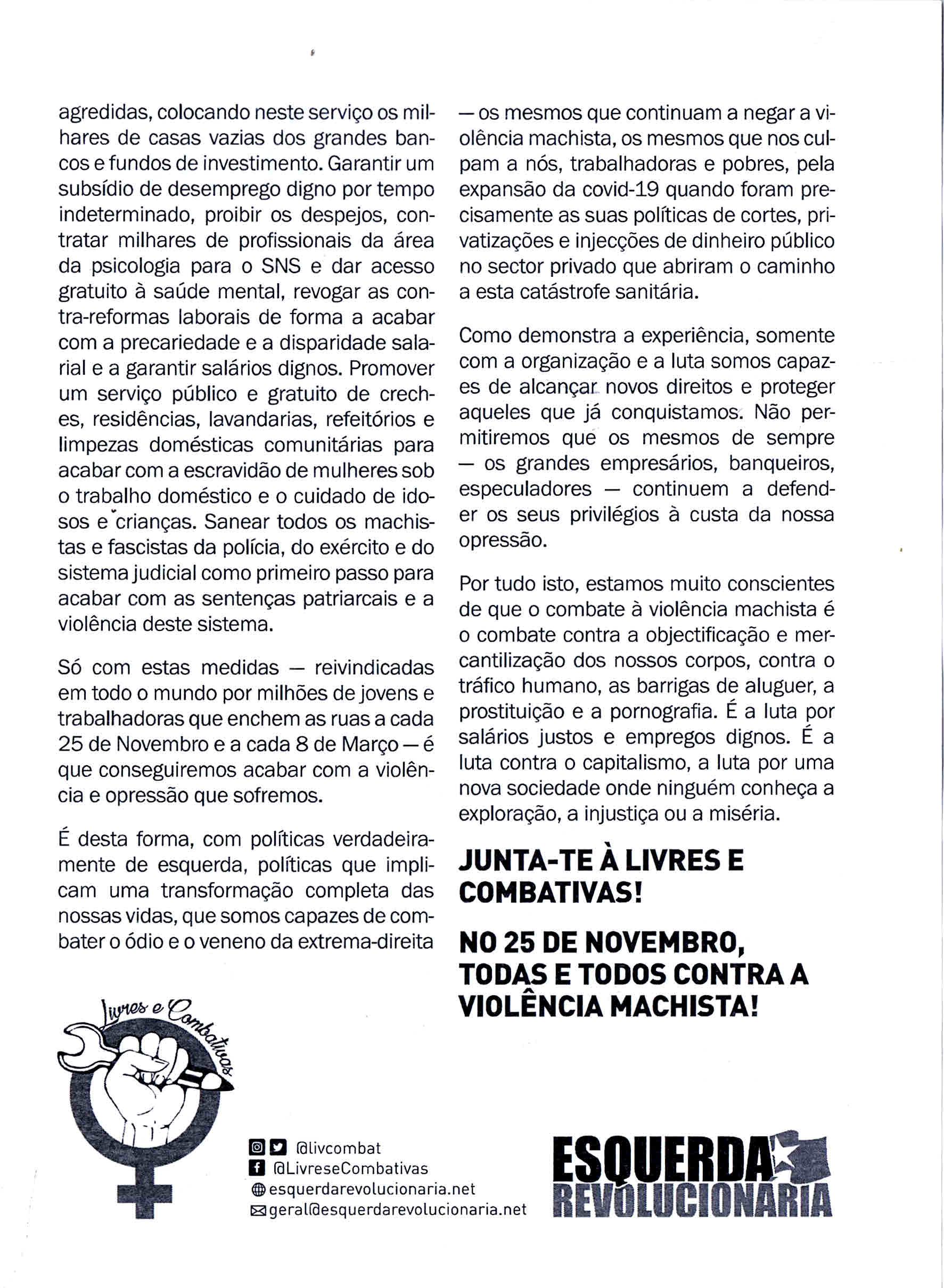 esquerda revolucionaria 2020 panfleto feminista 1.jpeg