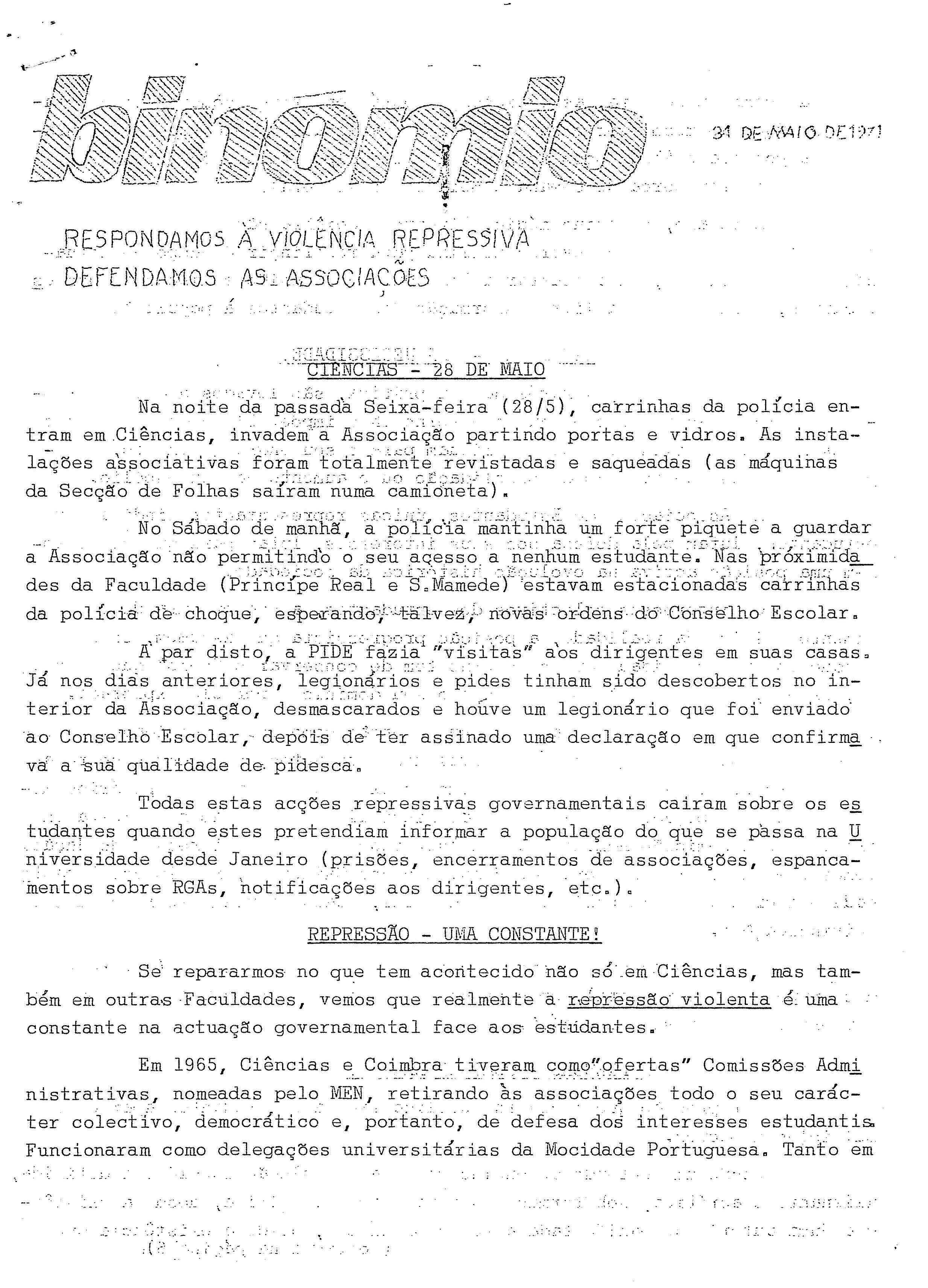 Copy of Binómio – 31-5-71