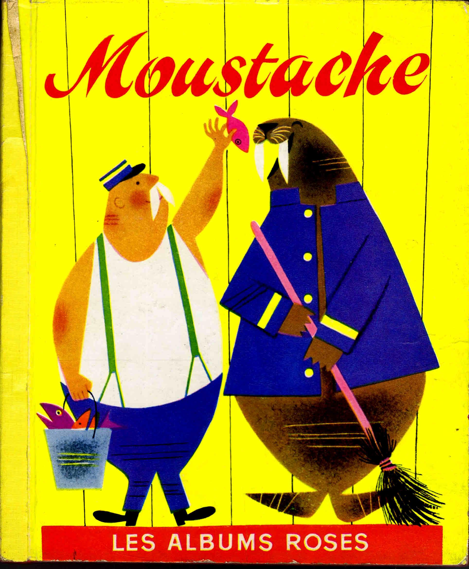 Librairie Hachette – Les Albuns Roses – Moustache