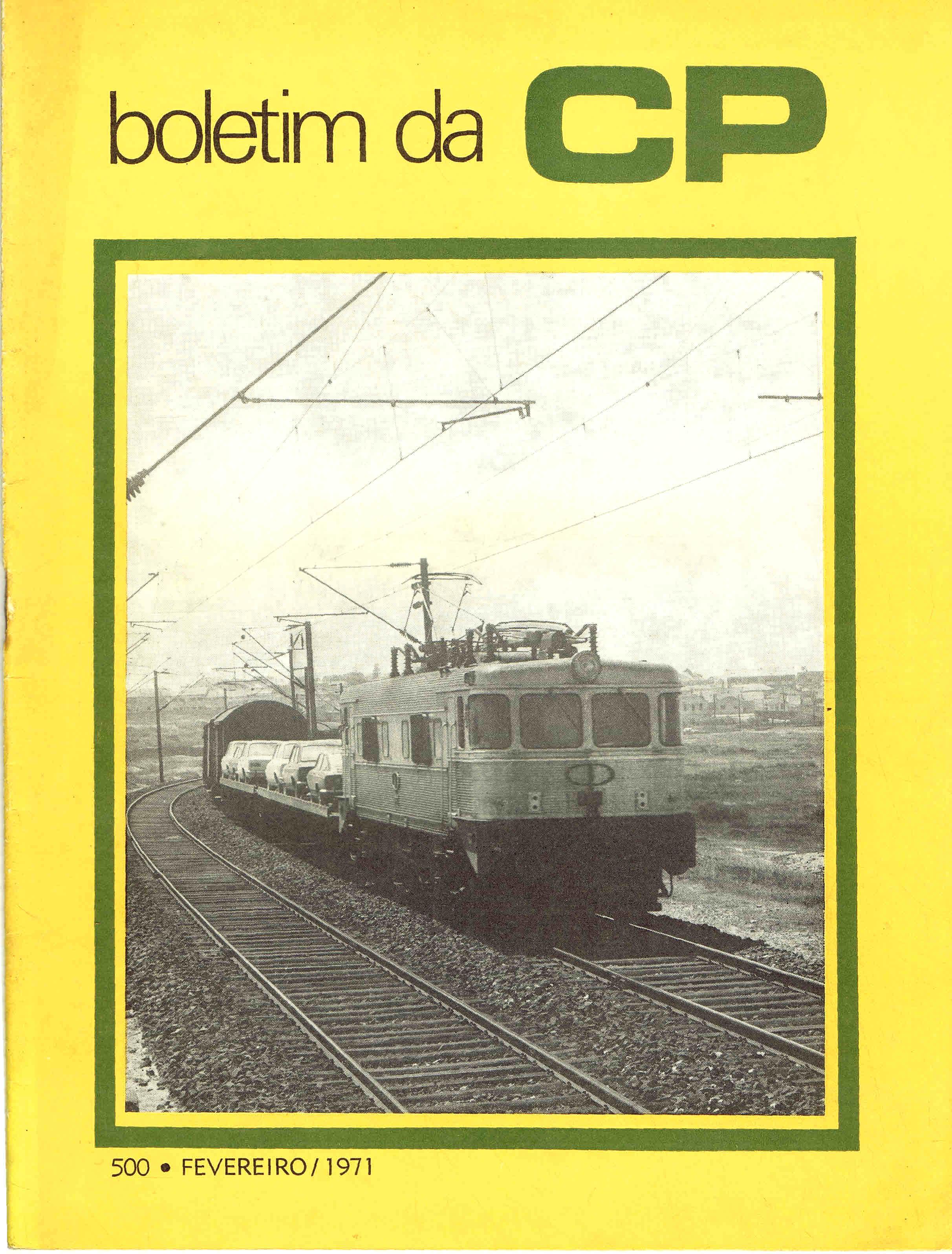 boletim da cp nº 500 fevereiro 1971