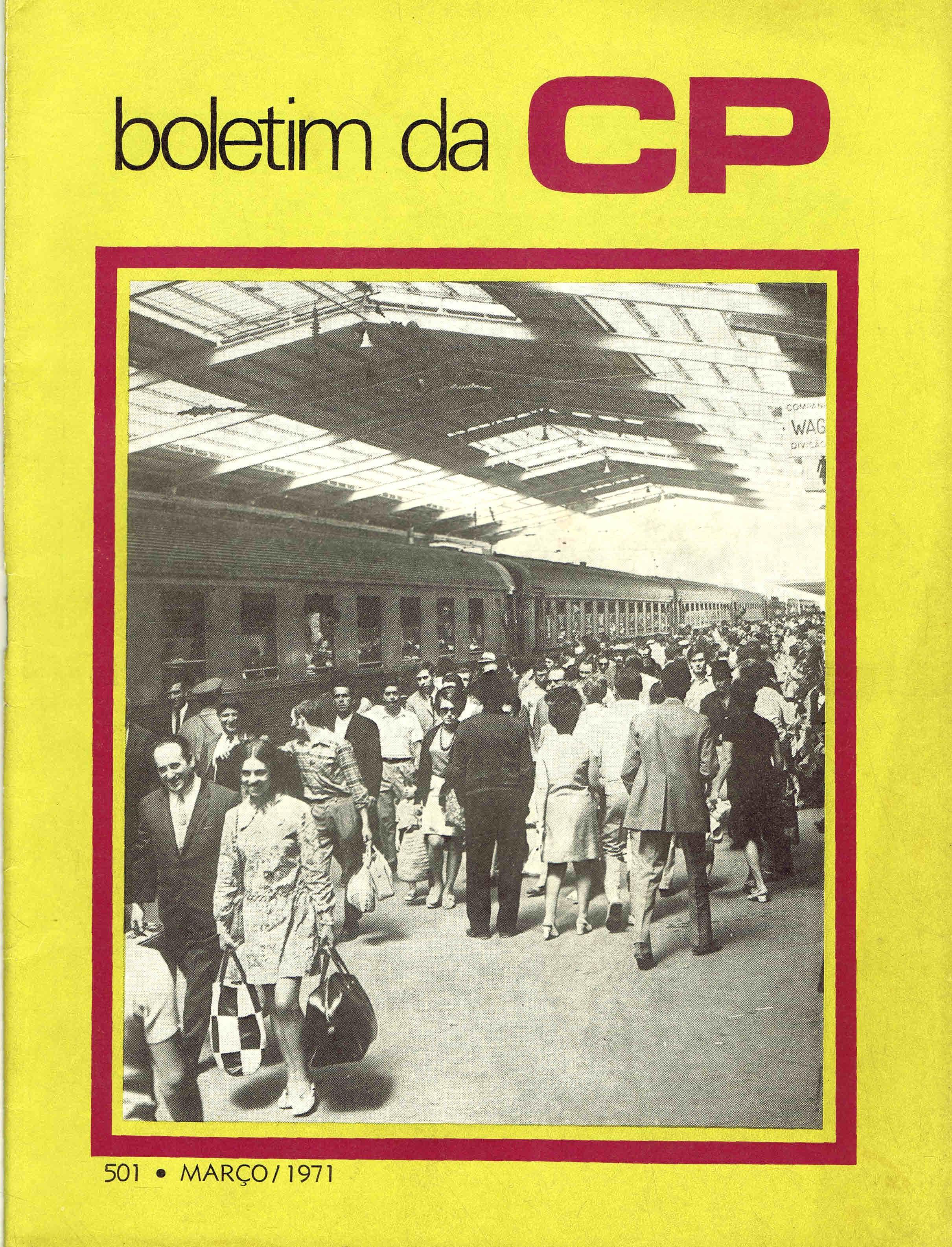boletim da cp nº 501 março 1971