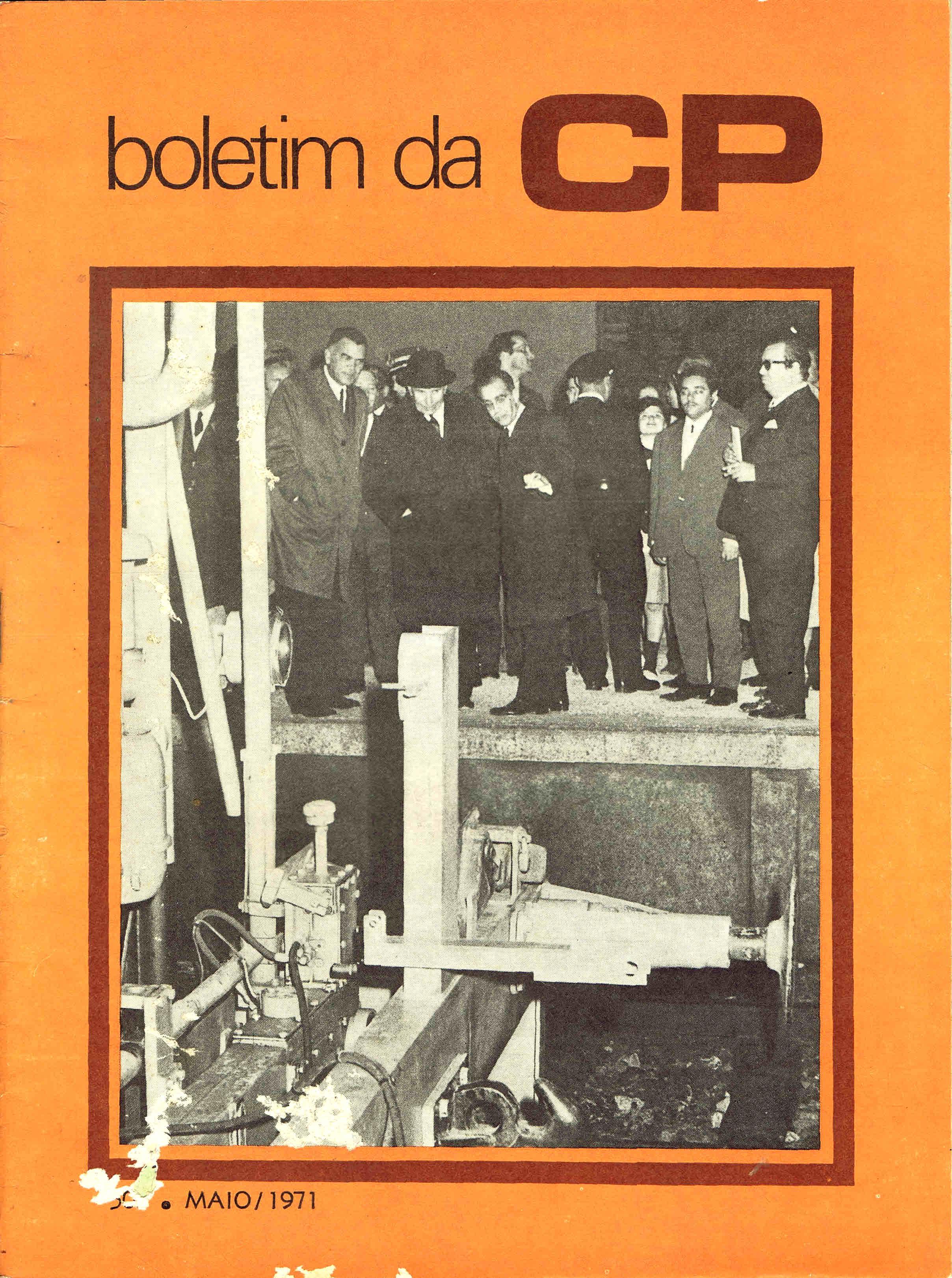 boletim da cp nº 503 maio 1971