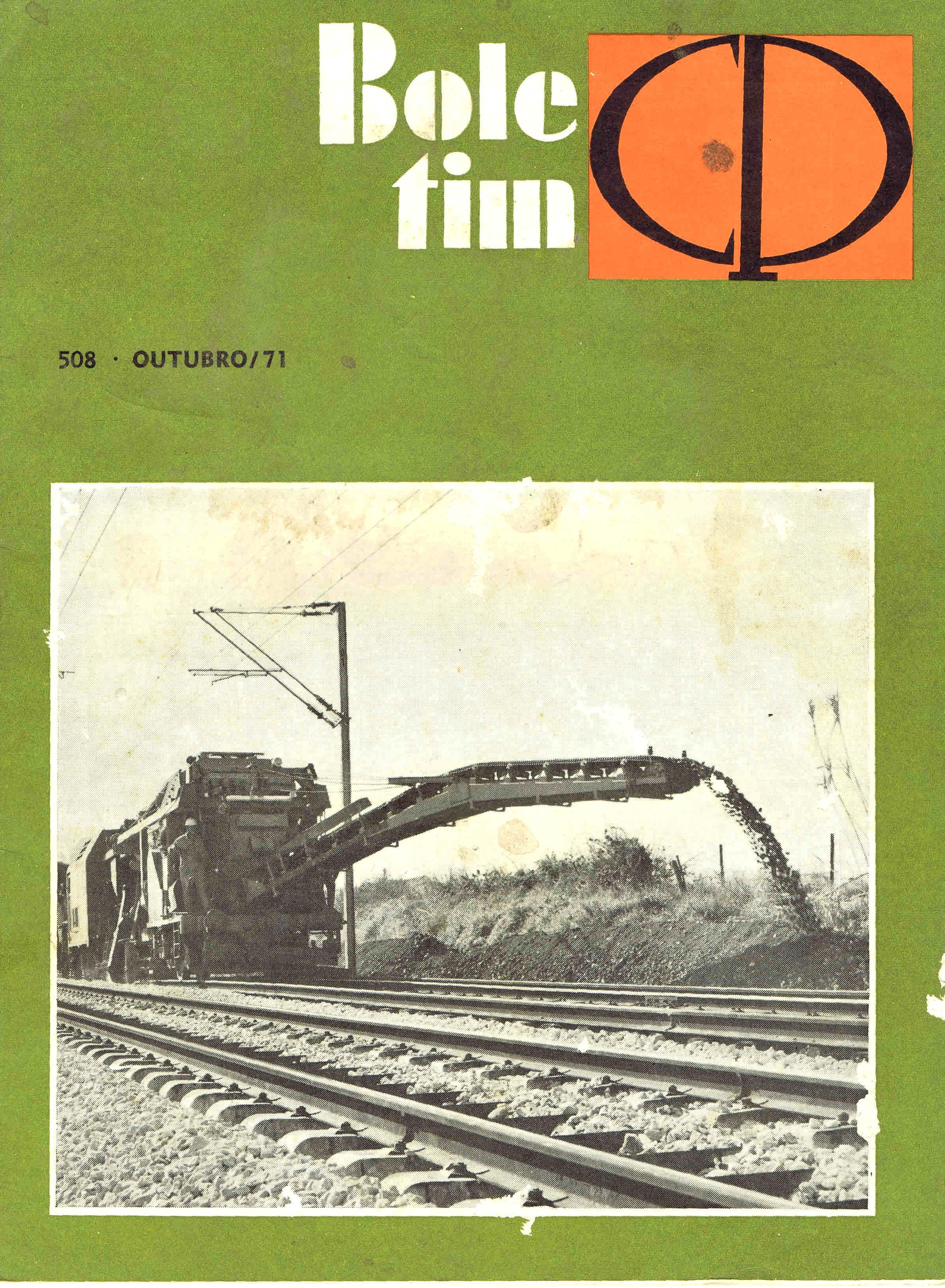 boletim da cp nº 508 outubro 1971