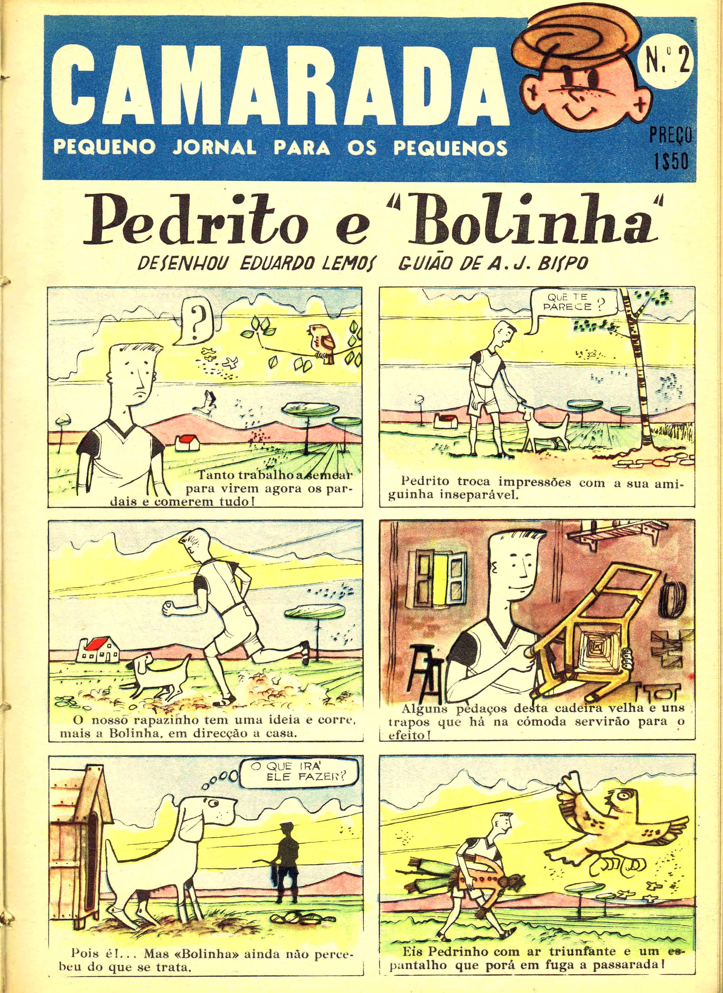 camarada mocidade portuguesa nº 2 1958