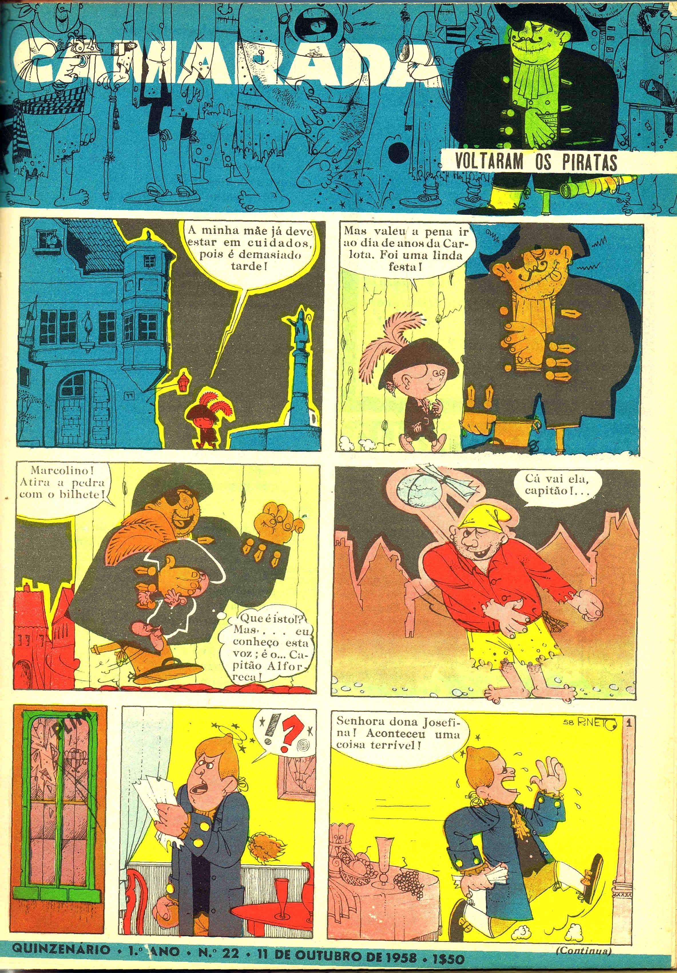 camarada mocidade portuguesa nº 22 1958