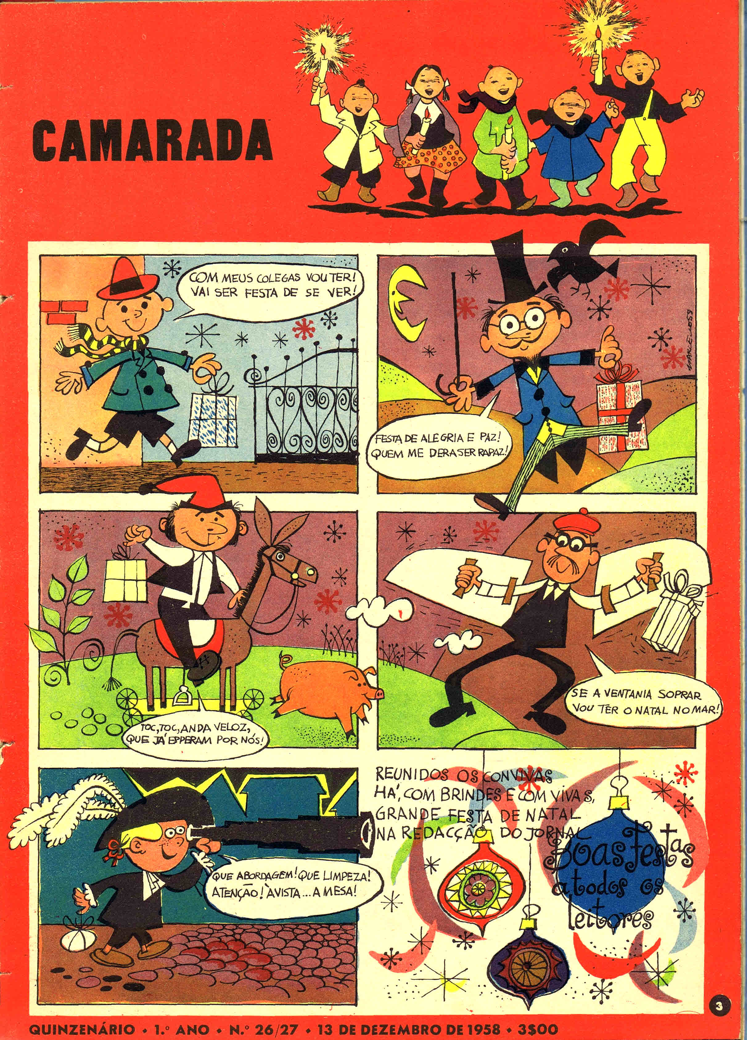 camarada mocidade portuguesa nº 26-27 1958