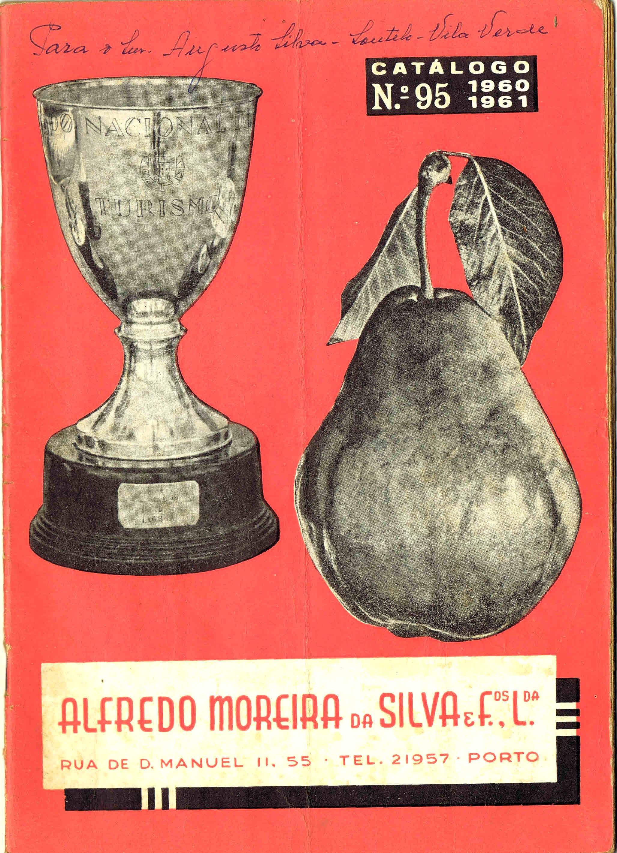 CATALOGO HORTICOLA MOREIRA DA SILVA & Fos Lda nº 95 1960-1961
