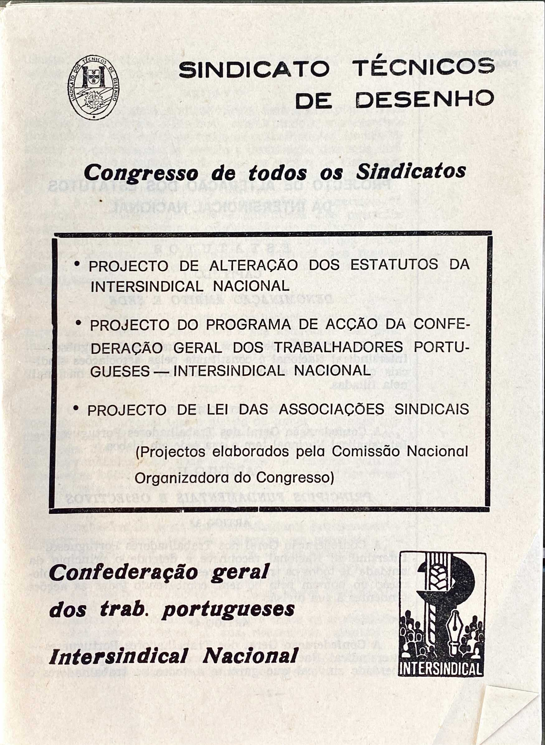 SINDICATO NACIONAL DOS TÉCNICOS DE DESENHO