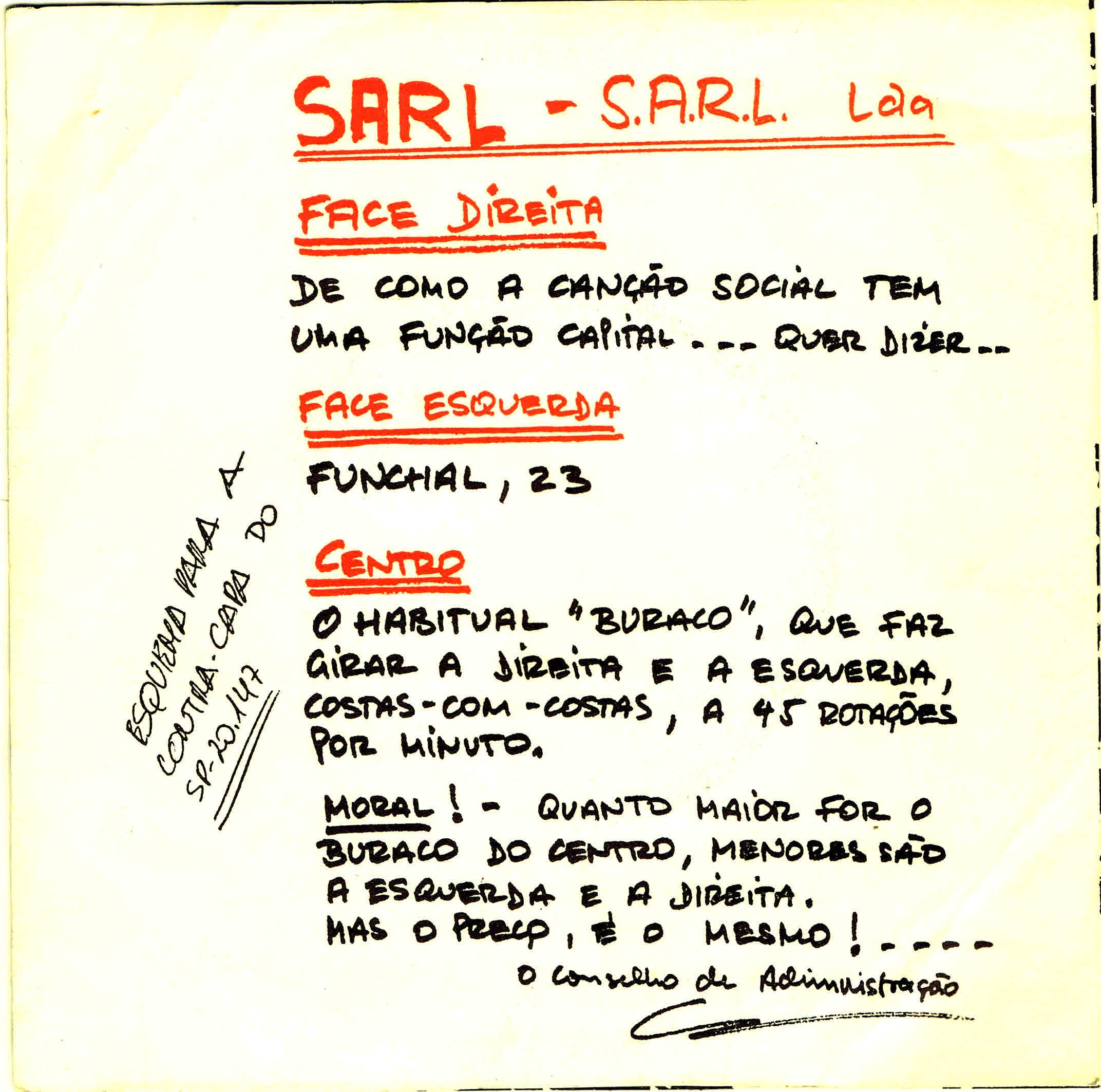 sarl vs