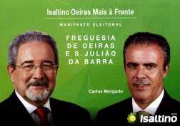 Copy of Isaltino Oeiras Mais à Frente