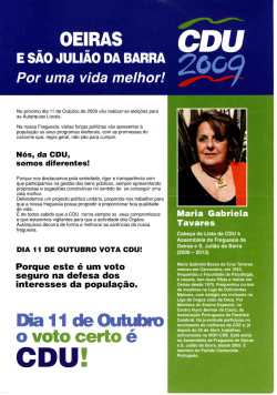 Copy of Oeiras e São Julião da Barra