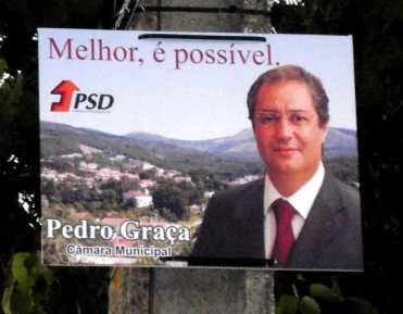 Castanheira de Pera - PSD - CARTAZ 01