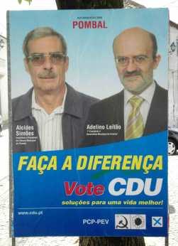 Pombal - CDU - Cartaz 01
