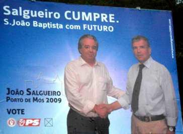 Porto de Mós - PS - São João Baptista - OUTDOOR 01