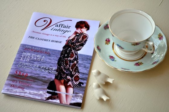 Zine Review ~ Vintage Affair, Issue 1 {Video}