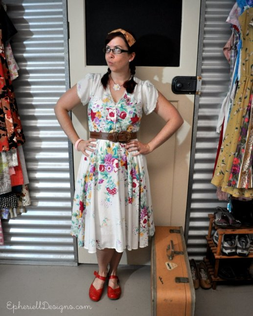 What I Wore ~ To Market, with Suitcase