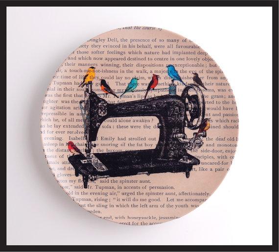 Melamine Art Plates by Black Baroque