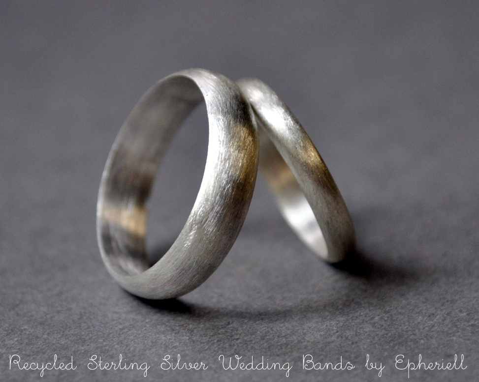 Introducing ~ Epheriell Eco Friendly Wedding Bands