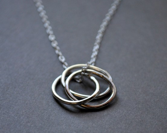 New Photos of an Old Classic ~ The Nested Hoops Necklace