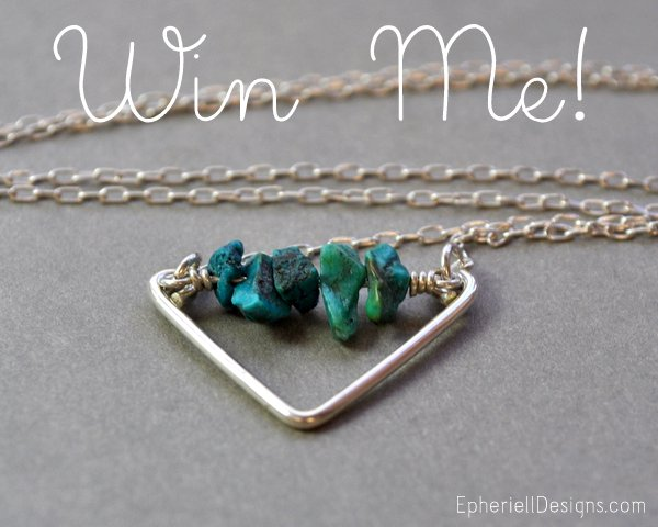Win an Oceanids Necklace ~ September 2012 Giveaway