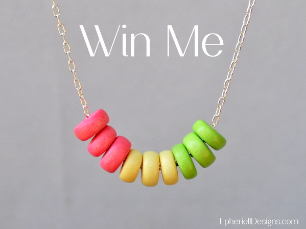 January 2013 Epheriell Giveaway ~ Pastel Dream Necklace