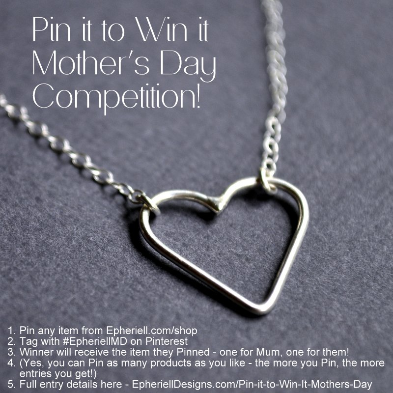 {CLOSED} Pin it to Win it for Mother's Day!